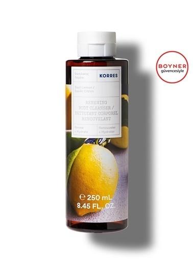 Korres Korres Basil Lemon Duş Jeli Vücut Temizleyici 250 ml Renksiz